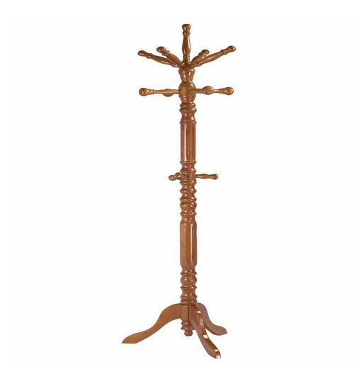 Coat Rack Wooden Traditional Spinning Top Frenchi Home