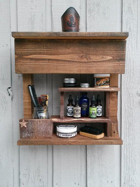Apothecary Beard Oil Beard Products Vintage Shelf