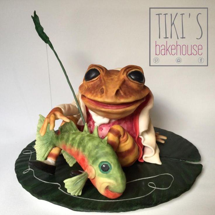 Jeremy Fisher - Cake by Tiki's Bakehouse