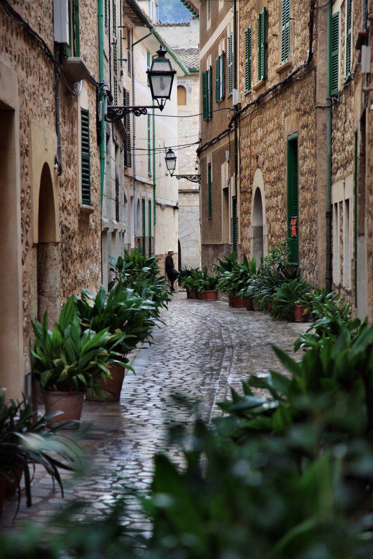 Soller, a village in Mallorca, Spain