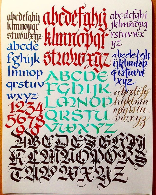 Alphabet In Glen: 1569 Best Calligraphy Fonts And Scripts Images On