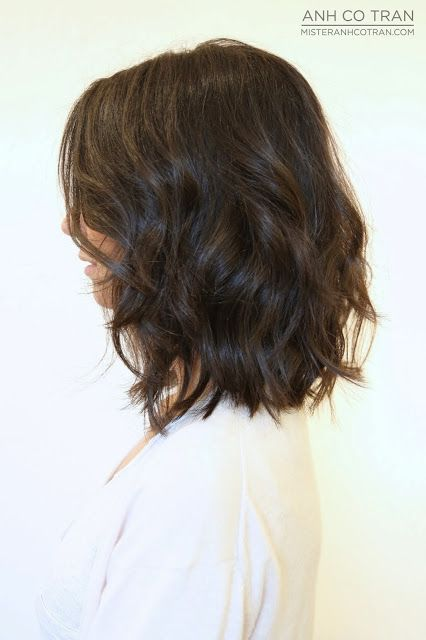 Mister AnhCoTran: LOS ANGELES: BEFORE & AFTER: TEXTURED LOOSE WAVES
