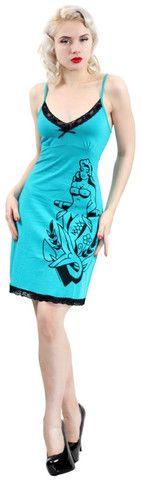 Nautical Nymph Cami Dress, Sourpuss