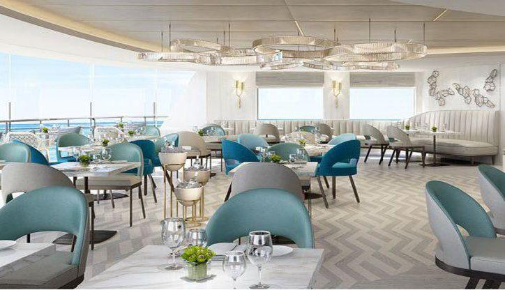 Patio Cafe - Crystal Yacht Cruises | The Luxury Cruise Company Crystal Esprit #cruise #luxury #yacht #travel