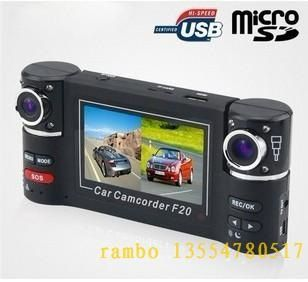 CARCAM Anti Pengci tachograph HD wide-angle dual lens car camera black box F20 does not leak seconds   aylwarda7palmera798a
