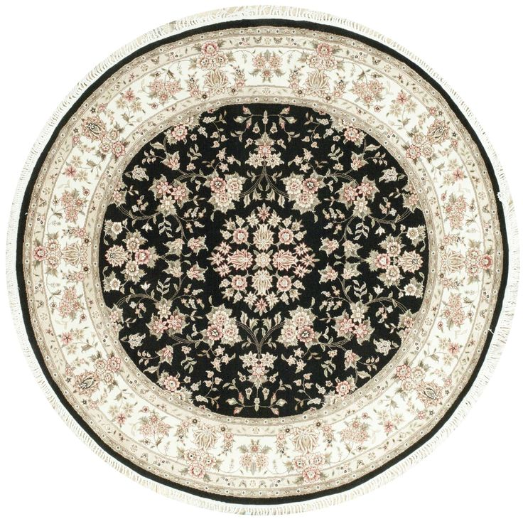 199 best round rugs images on pinterest circular rugs for Area rugs round contemporary