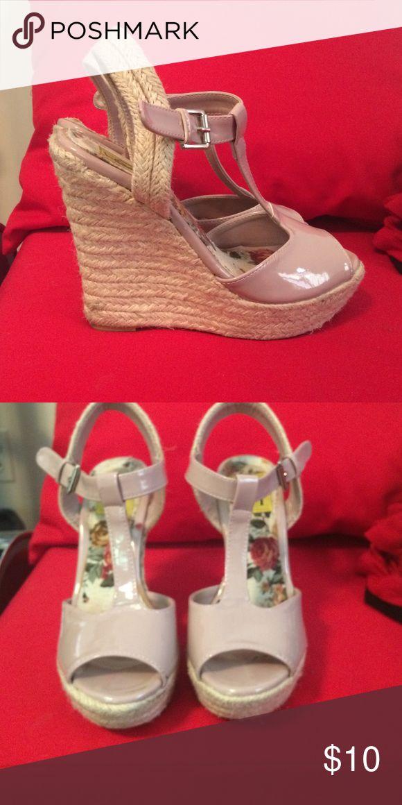 Nude espadrilles wedge Nude espadrilles wedge Shoes Espadrilles