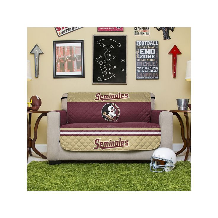 Florida State Seminoles Quilted Loveseat Cover, Multicolor