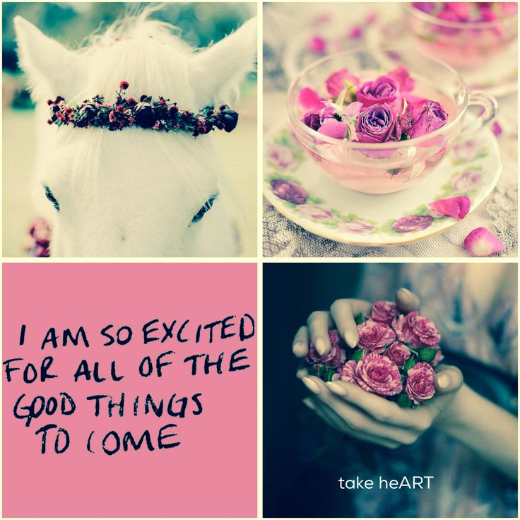 Quote. Expect good things