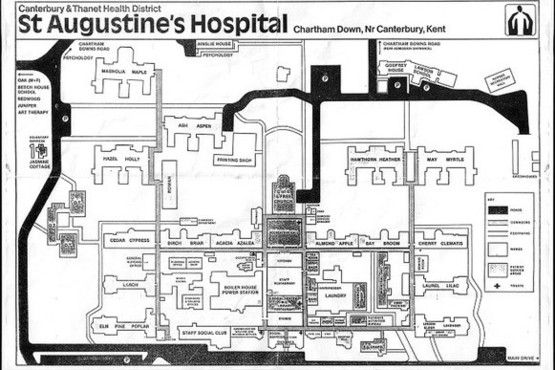 1980s plan of hospital
