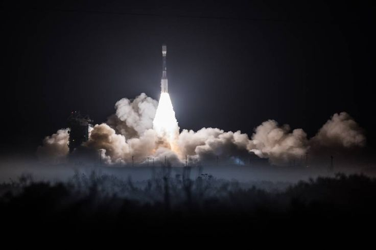 A United Launch Alliance (ULA) Delta II rocket carrying NOAA's JPSS-1 satellite lifts off from Vandenberg Air Force Base