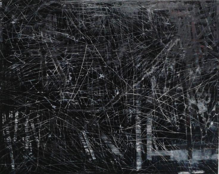 Migle Duncikaite, No Answers, 150 x 120, Oil on Canvas