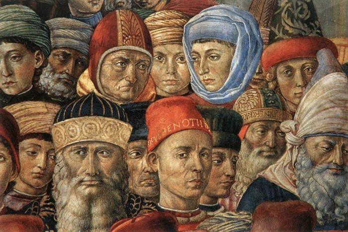 Benozzo Gozzoli | Procession of the Magi in the Palazzo Medici-Riccardi in Florence (1459-60)