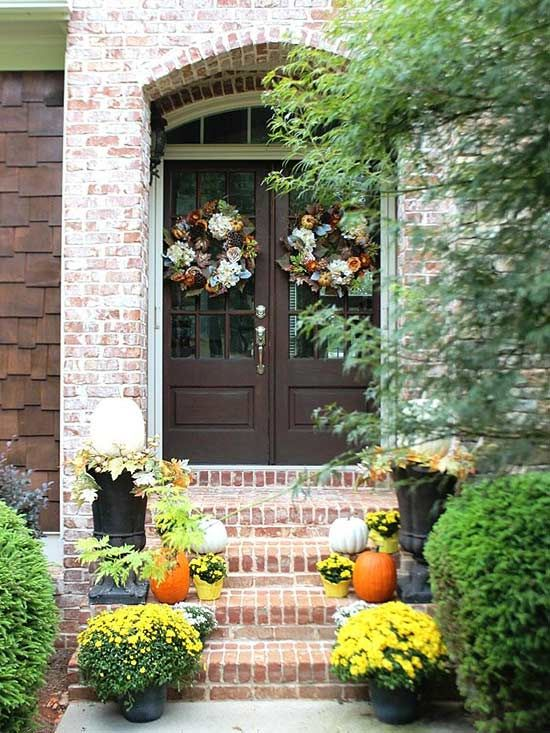 476 Best Images About Fall Decorating Ideas On Pinterest Mantels Better Homes And Gardens And Pumpkins