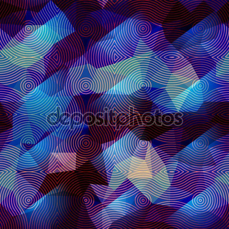 Абстрактные геометрические синий фон — стоковая иллюстрация #82211448