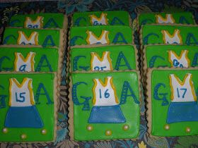 the enchanted oven: Field hockey cookies