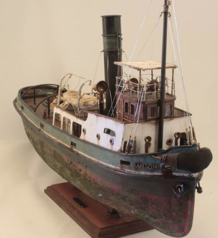 Sanson Tug Boat - Wood Model Kit - by Barlas Pehlivan in ...