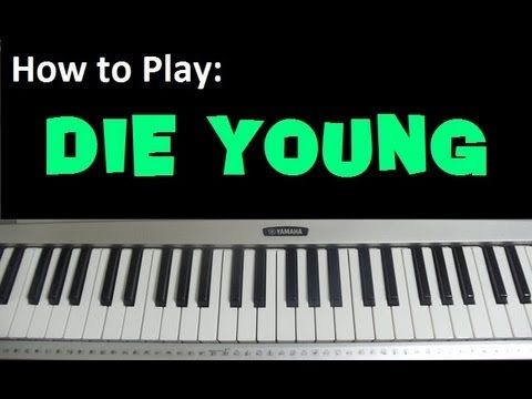 how to play waves acoustic on piano