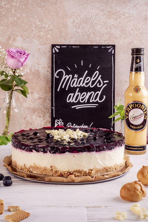 Windbeutel Blaubeertorte Mit Eierlikor Kuchen Ohne Backen Kuchenrezepte Mit Eierlikor In 2020 Kuchen Ohne Backen Blaubeertorte Kuchen Rezepte