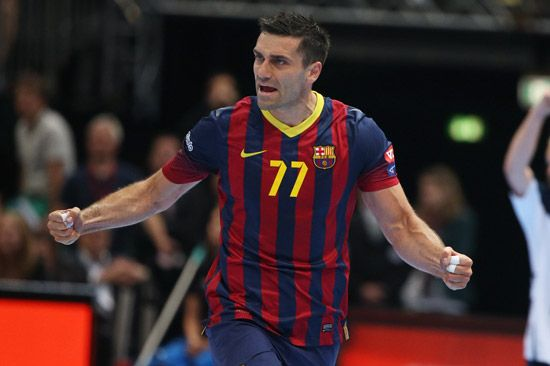 Kiril Lazarov VELUX EHF FINAL4 - FC Barcelona vs SG Flensburg-Handewitt