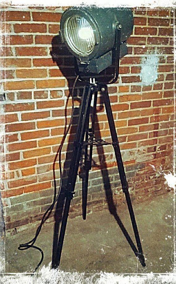 Vintage Kliegl Brothers studio theater spotlight by RetroPurposed