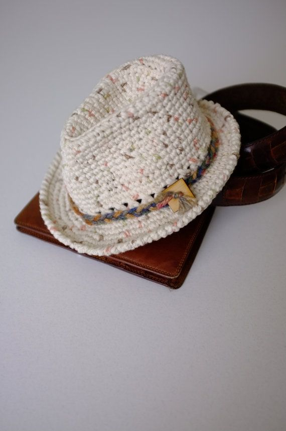Baby Boy Fedora Hat Newborn Crochet Fedora by milazshop on Etsy, $25.00
