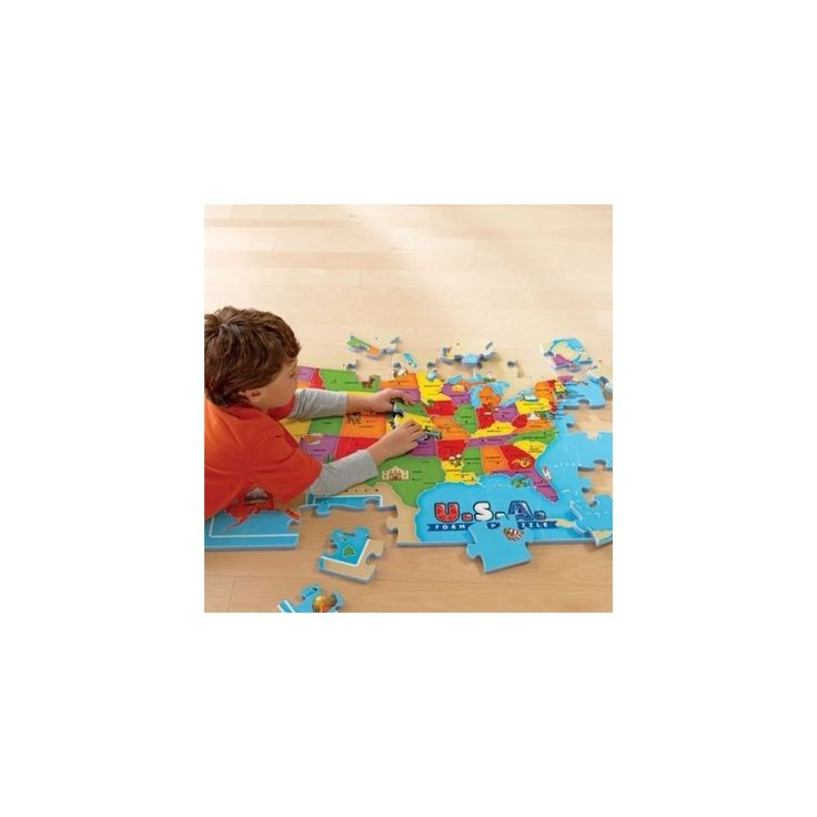 USA Foam Map Puzzle 87 best For