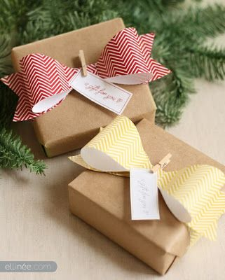 Ideas Brillantes Para El Hogar: Ideas para envolver y hacer un paquete de regalo