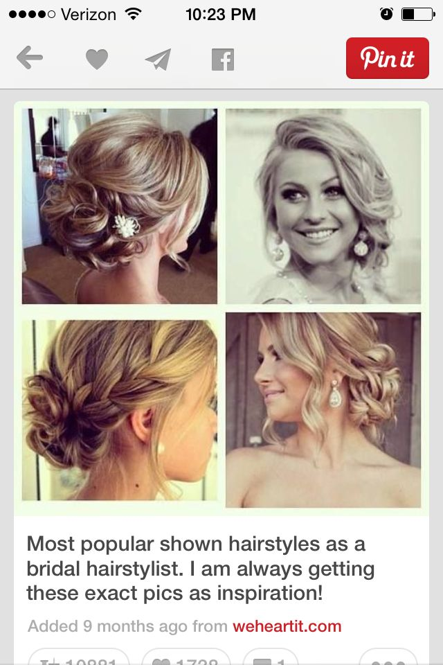 Possible maid of honor hair