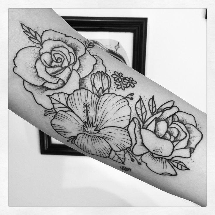 14 Best Tatuajes Images On Pinterest - Flor-hawaiana-tattoo