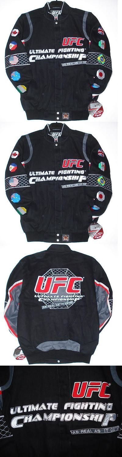 Mixed Martial Arts MMA 177913: Size S Ufc Ultimate Fighting Championship Embroidered Cotton Jacket Jh Design S -> BUY IT NOW ONLY: $112.79 on eBay!
