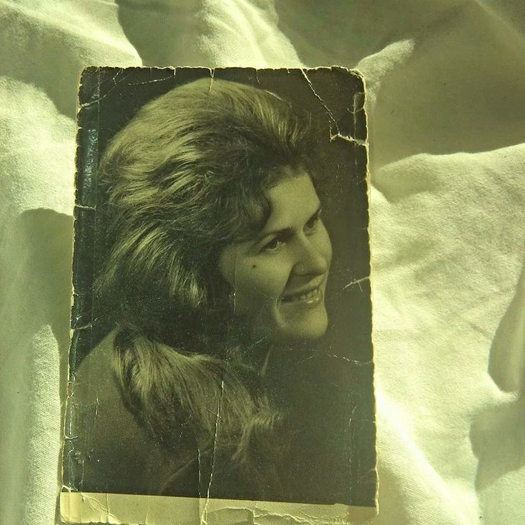 This is an old photograph from my beautiful grandma in her young but though days