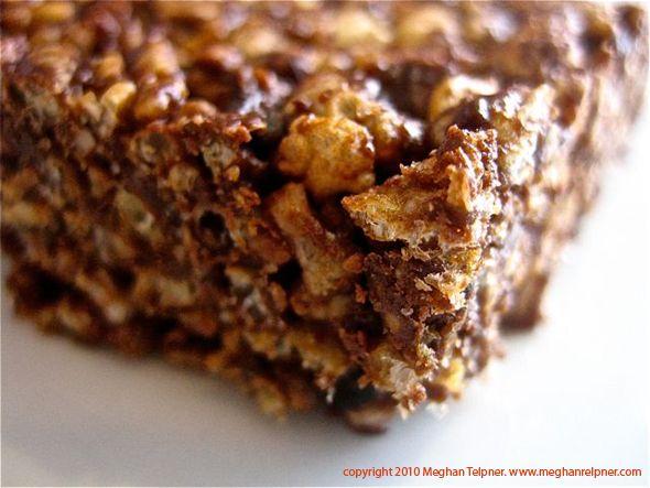 Chocolate Crispy Rice Squares | Meghan Telpner Nutritionista