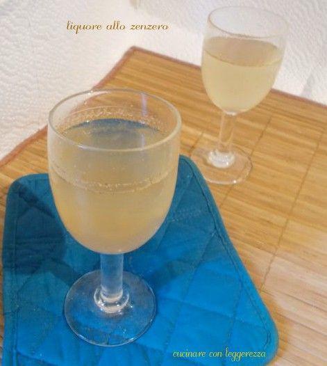 Liquore Allo Zenzero Rezept Pinterest