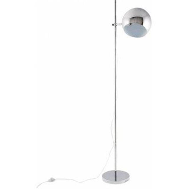 Best Lampade en M tal chrom Design Globo avec abat jour ajustable cm
