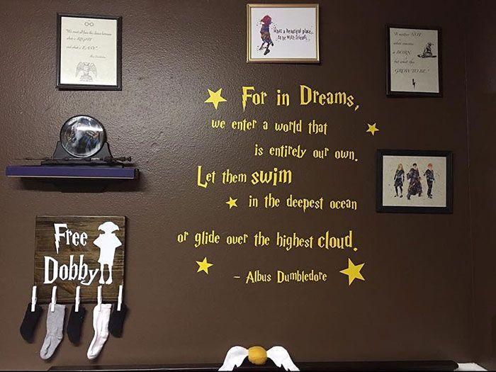 *Как прекрасен мир, являющийся во снах.От загадочных глубин океана до сверкающих звезд вселенной.* Альбус Дамблдор.
