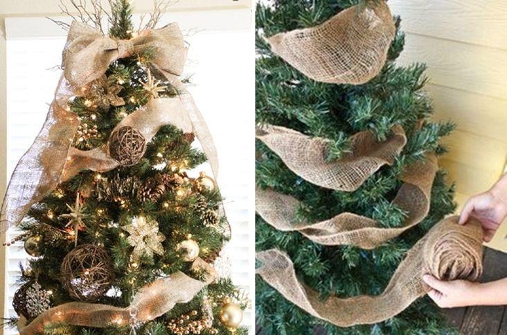 Ideas para decorar arbol de navidad con cintas buscar - Manualidades para decorar el arbol de navidad ...
