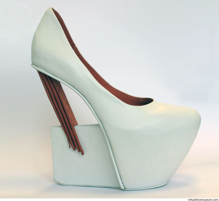 This fucking shoe, bitches. This. Fucking. Shoe. #itsaneednotawant  Retro Futurism | virtualshoemuseum.com
