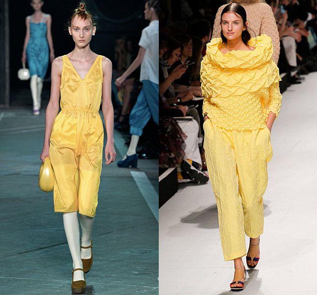 Модные тенденции сезона весна-лето 2015: синий и белый цвет, деним, цветочный принт, милитари | Vogue | Мода | Тенденции | VOGUE