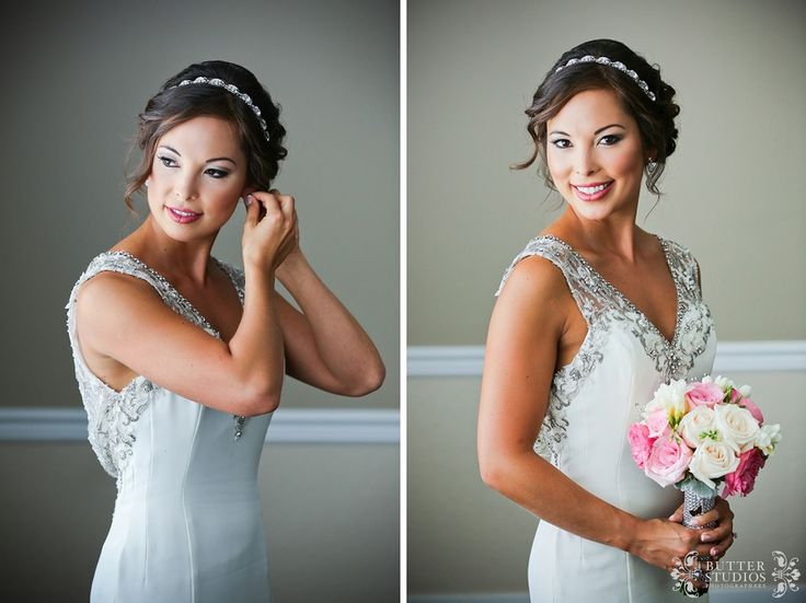 Chelsea - bride getting ready photos at Hart House Restaurant - http://www.butterstudios.ca
