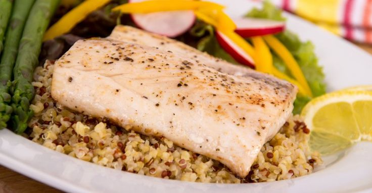 Mahi-Mahi with Quinoa and Fresh Vegetables – How to cook