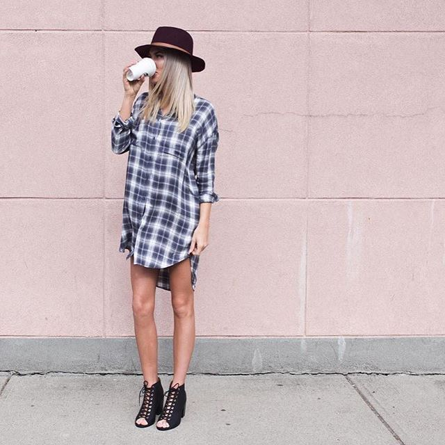 The perfect shirt dress has been found, #GFbabes #styleinspo #lookbook #instalove #thatsdarling #wiw Photo via @shophunnis