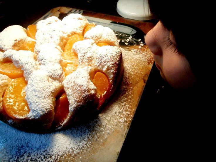 Kolač sa breskvama - Peach cake