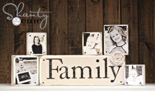 Doe-het-zelf fotoblokken, en nieuwe manier van foto's afdrukken en ophangen.