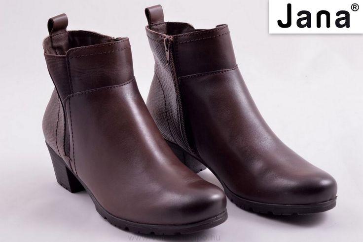 Jana barna női bokacipő vékony béléssel és kivehető talpbetéttel megérkezett, üzleteinkbe és webáruházunkba!  http://valentinacipo.hu/jana/noi/barna/bokacipo/147567341  #Jana #Janacipő #Valentinacipőbolt #