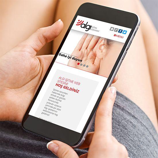 Algı İşitme websitesi responsive olarak yenilendi! www.algiisitme.com.tr