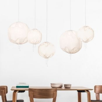 Kuu lamp, white, by One Nordic.