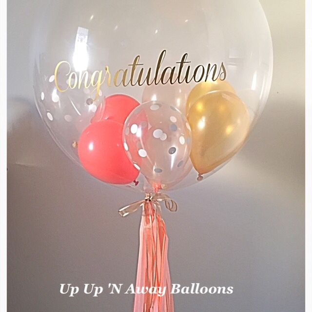 Custom vinyl print gumball balloon