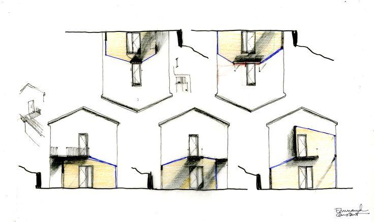 Extension d'une maison au Thoronet, pour Goodnova-Godiniaux Architectes, 2014.