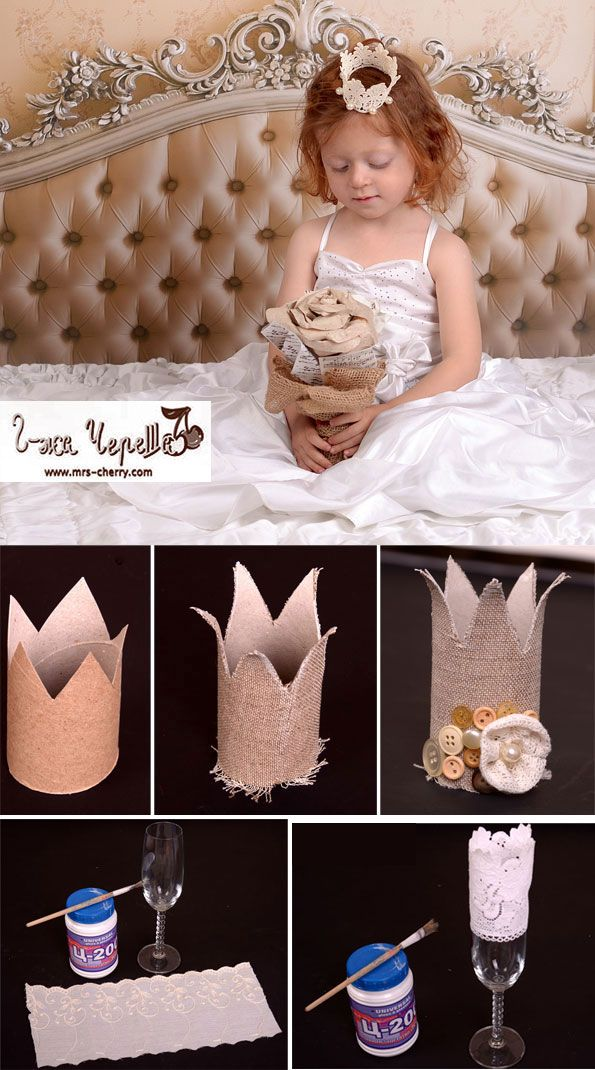Two ideas for crowns – DIY